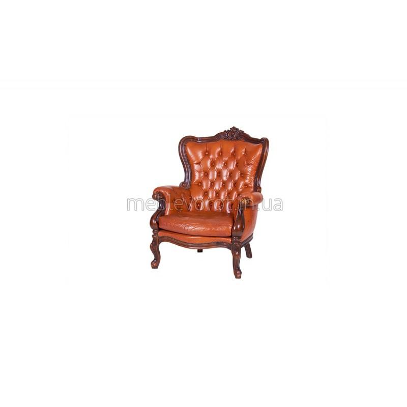 """Кресло """"Барокко"""" коричневое (Аренда)"""