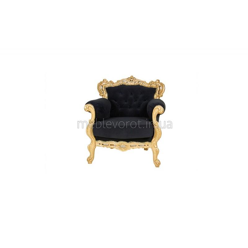 """Кресло """"Барокко"""" черное (Аренда)"""