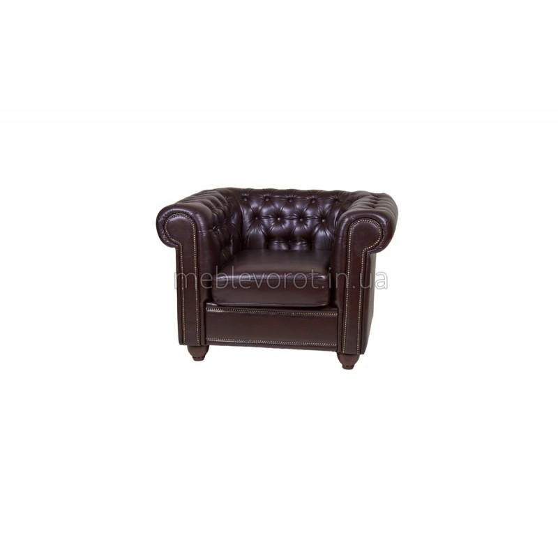 """Кресло """"Честер"""" коричневое (Аренда)"""