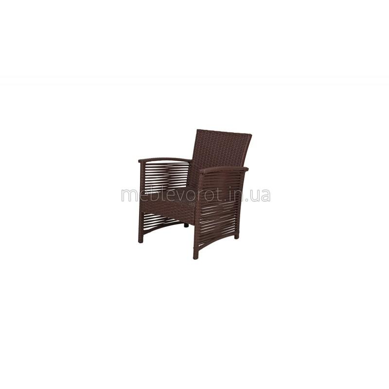 """Кресло """"Ротанг"""" коричневое (Аренда)"""
