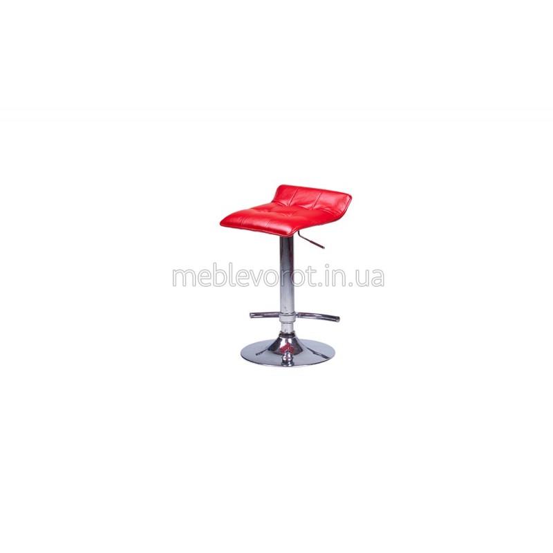 "Барный стул ""Волна"" красный (Аренда)"