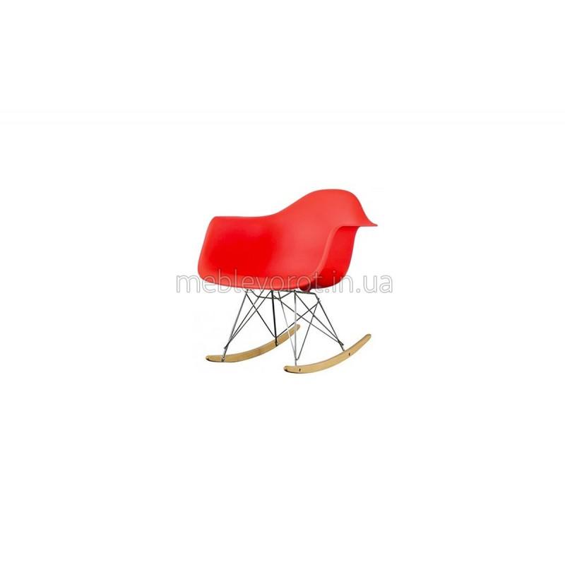 """Кресло качалка """"Тауэр"""" красное (Аренда)"""