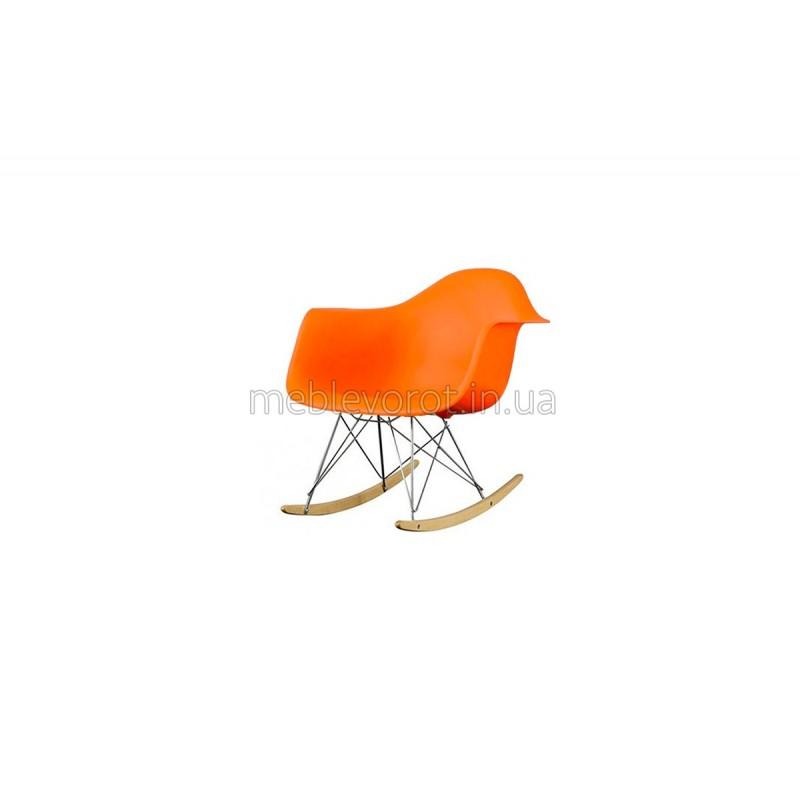 """Кресло качалка """"Тауэр"""" оранжевое (Аренда)"""