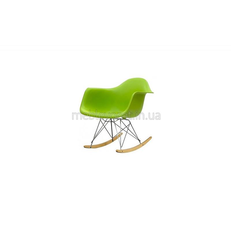 """Кресло качалка """"Тауэр"""" зеленое (Аренда)"""