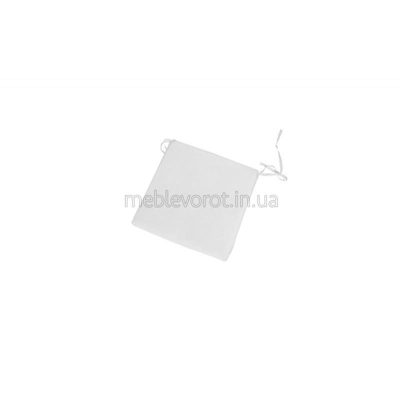 Подушка на стілець біла (Оренда)