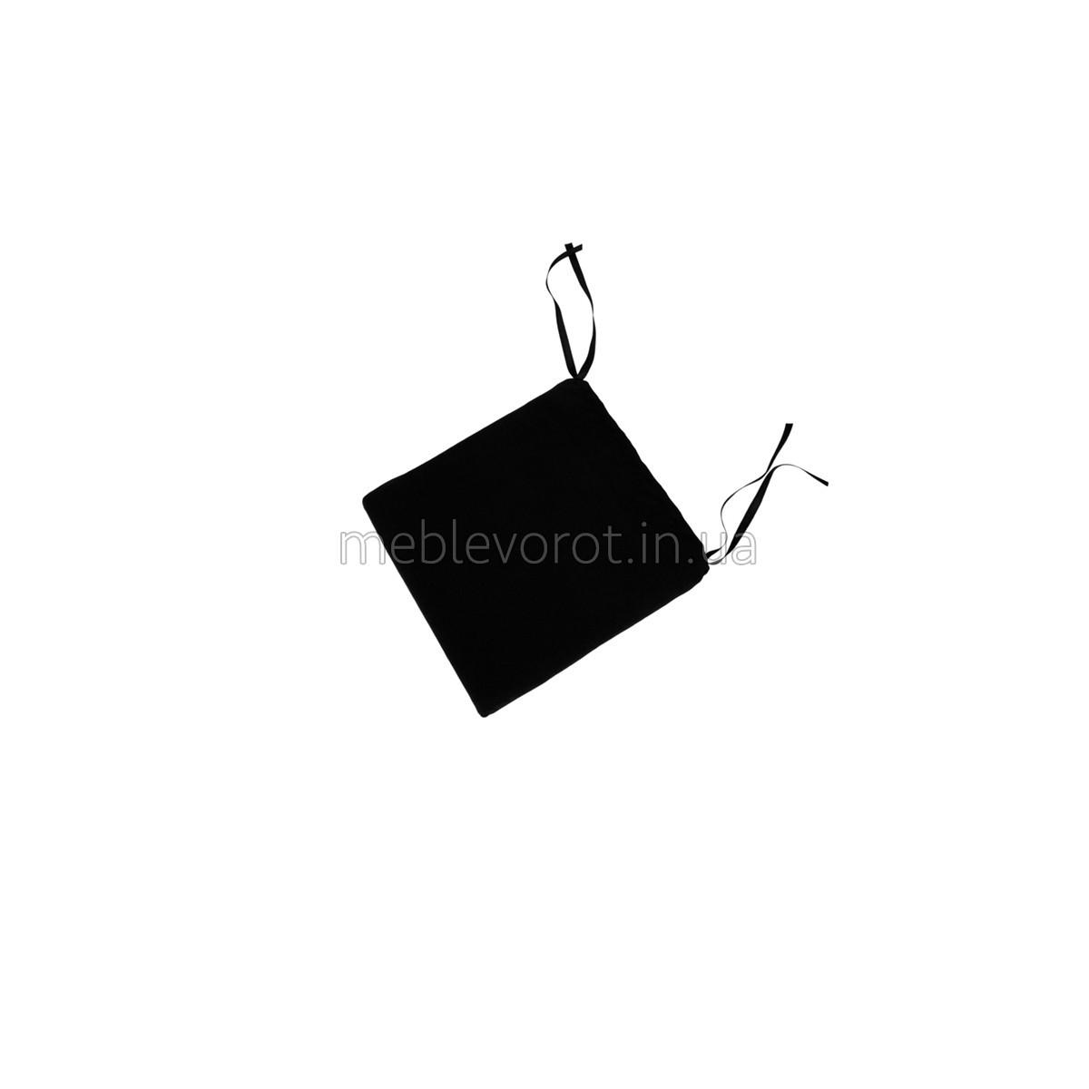 Подушка на стул черная (Аренда)