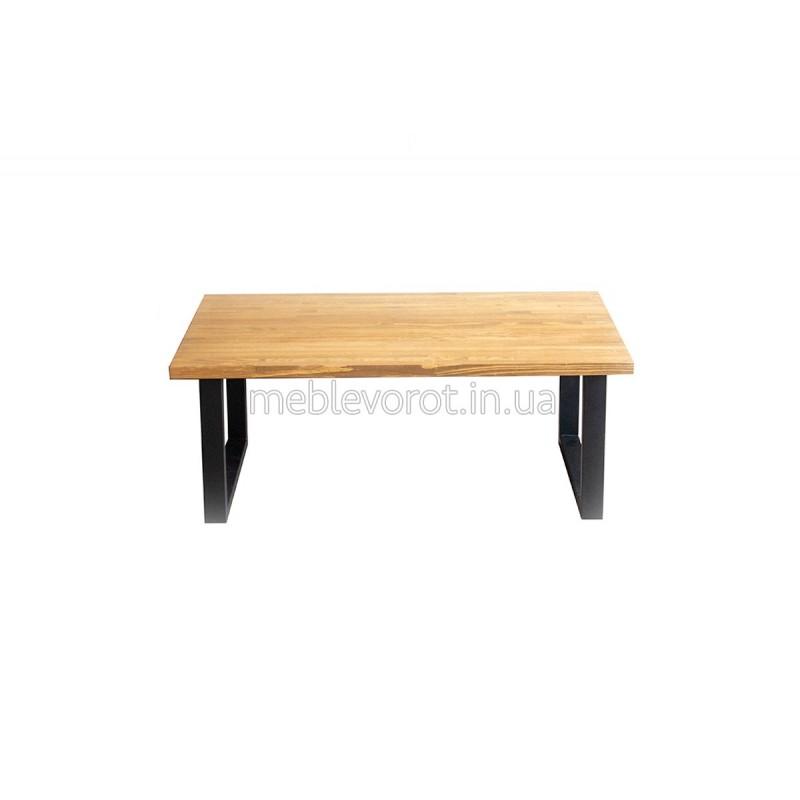 """Журнальний стіл """"Лофт прямокутний малий"""" чорний (Оренда)"""