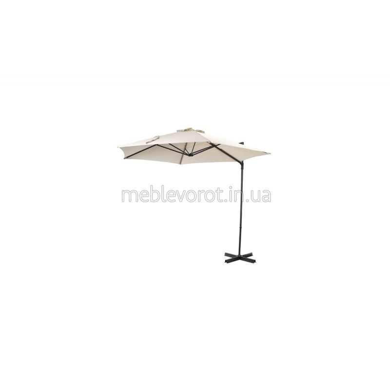 Зонт боковий біжевий (Оренда)